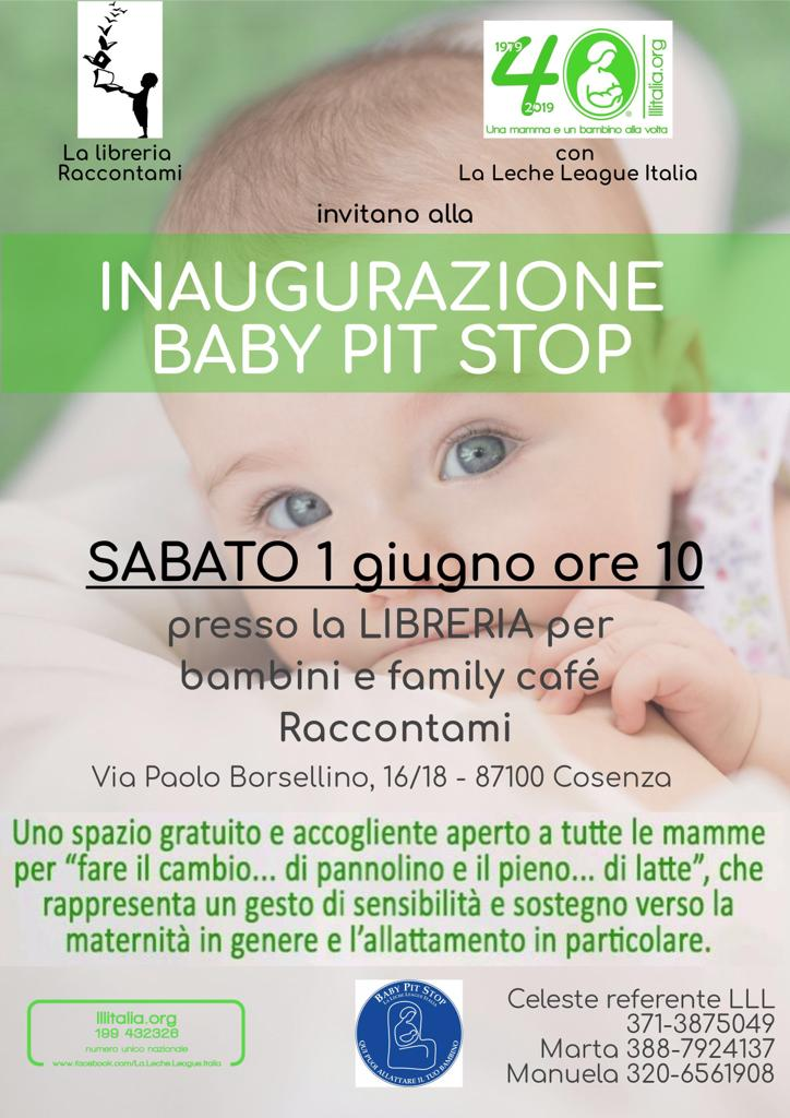 Baby Pit Stop a Cosenza
